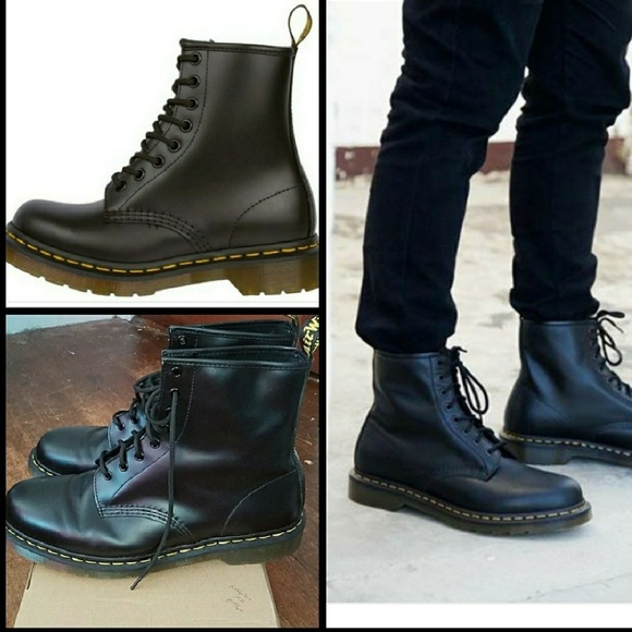 Dr. Martens Other - DR MARTENS 1460 smooth black boot size 13 mens 65e75c1b09e9